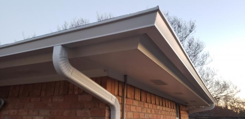 Superior Gutter Systems Straight Face Gutter